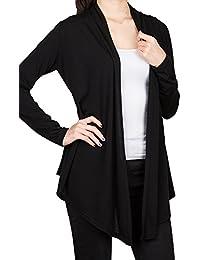 [DRSKIN] Women's Open - Front Long Sleeve Knit Cardigan
