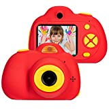 omzer Digital Camera for Kids, 1080P HD Video Camera Mini Child Camcorder with 2 Inch...
