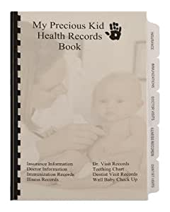 Medical Records Book - Doctor Visits Records