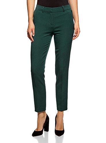 Oodji Avec 6900n Classique Pantalon Femme Poches Ultra Vert gqOg6wR7