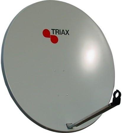 Triax Sat antena 110 cm en blanco Espejo TDS de 110 Acero ...