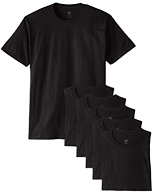 Men's Comfortsoft 6 Pack Crew Neck Tee