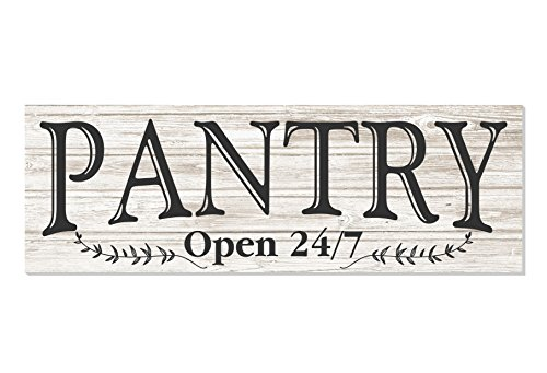How to buy the best farmhouse pantry signs for kitchen?