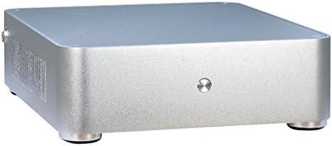 Inter-Tech E-W60 HTPC 60W Plata Carcasa de Ordenador - Caja de Ordenador (HTPC, PC, Mini-ITX, Plata, RoHS, 60 W): Amazon.es: Informática