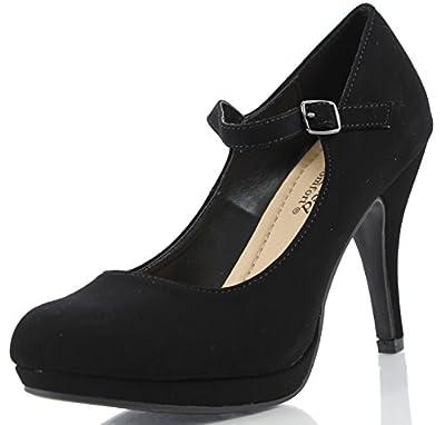 City Classified Women's Comfort Dennis Mary Jane High Heel