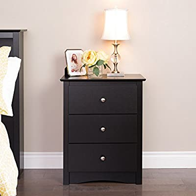 Prepac Sonoma 3 Drawer Nightstand