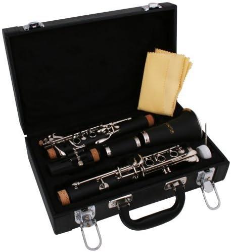 Lindo - Estuche para clarinete (si bemol, incluye accesorios de limpieza): Amazon.es: Instrumentos musicales