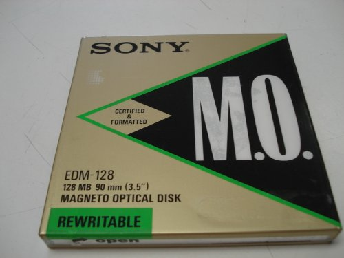 SONY M.O. Disc EDM-128 128MB 90mm(3.5)