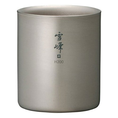 snow peak Titanium Stacking Mug Double Wall Ware H200 TW-124