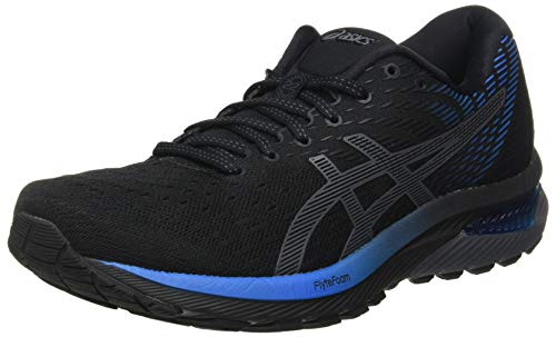 ASICS Men's Gel-Cumulus 22 Running Shoe, Black Directoire Blue, 11 UK