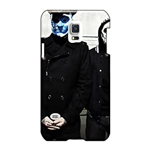 AlissaDubois Samsung Galaxy S5 Mini Scratch Resistant Cell-phone Hard Cover Custom Nice Asking Alexandria Band Pattern [dLa6264egeM]