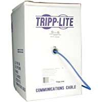 TRIPP LITE Cat5e/Cat5 350MHz, 1000 Bulk Stranded-Core PVC Cable, Blue (N020-01K-BL)