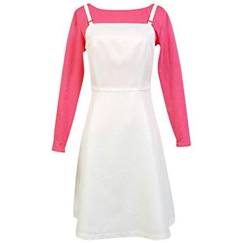 Kasumi Cosplay Costumes (Allten Women's Cosplay Costume Kasumi braces skirt XXXL)