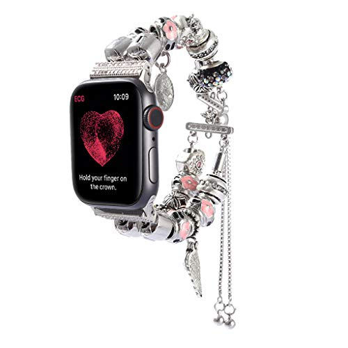 Luxury Jewelry DIY Bracelet Strap,for Apple Watch Series 1/2/3/4 38 / 40mm - Decoration (A)