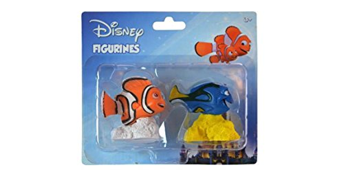 Finding Nemo Collectibles (Finding Dory and Nemo 2pk miniture figure on blister card)