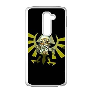LG G2 Cell Phone Case White Iron Maiden AFT836185