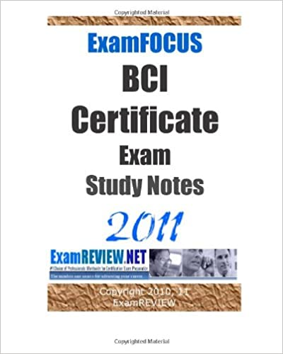 bci certificate examination questions