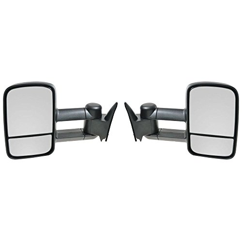 01 chevy tow mirrors pair - 8