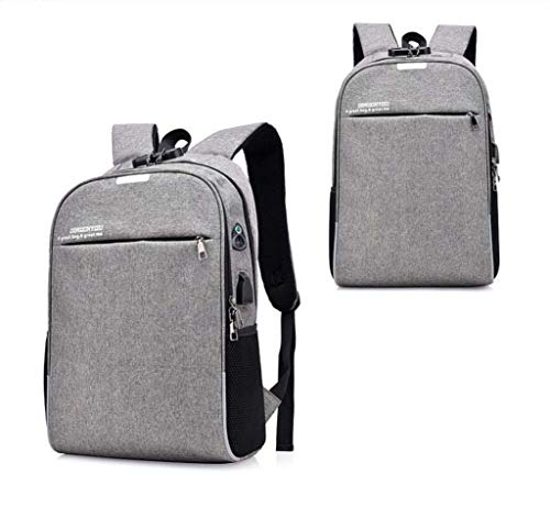Sac Backpack Travel Function Dos Anti Simple Waterproof À Portable Laptop Bag Charging Usb Port Multi With Business Theft Password w0OnkP