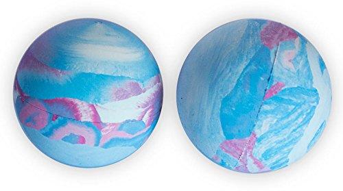 LBS-2 Pack Lacrosse Massage Balls -Multi Colored