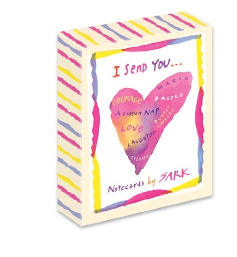 I Send You Note Card Box Set by SARK (Lotus Note Cards)
