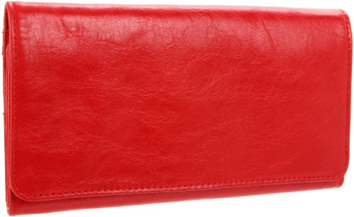Latico Shelby 4669 Wallet,Red,One Size, Bags Central