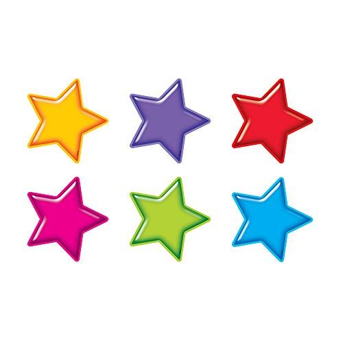 TREND enterprises, Inc. Gumdrop Stars Classic Accents Variety Pack, 36 ct
