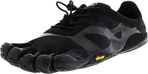 Vibram Men's KSO EVO Cross Training Shoe,Black,43 EU/9.5-10.0 M US - Cup Sneaker Sole