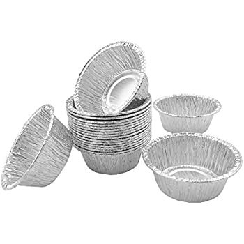 Amazon Com Foil Mini Baking Cups 2 5 8 Quot For Utility