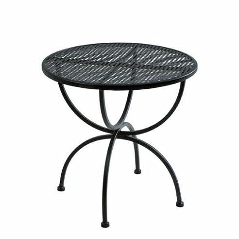 Gartentisch rund metall mbm  Amazon.de: MBM 65.00.0221 Tisch Romeo 75 rund