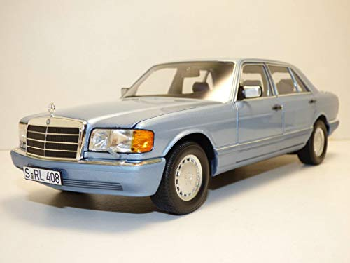 NOREV(ノレブ) 1/18 メルセデス・ベンツ 560 SEL 1990 メタリックパールブルー
