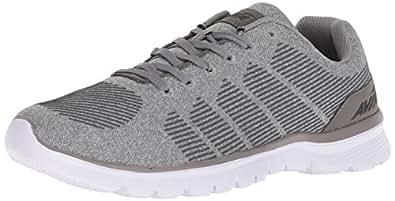 Avia Men's Avi-Rift Running Shoe, Frost Steel Grey/Black, 7 M US