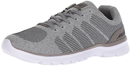 Avia Men's Avi-Rift Running Shoe, Frost Steel Grey/Black, 11 2E US