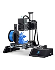 3D Printer, Mini Desktop 3D Printing & Laser Engraving 2 in 1 DIY PRO Kit with 10M 1.75mm PLA Filament for Beginners Kids Teens, Printing Size 120 x 120 x 115mm