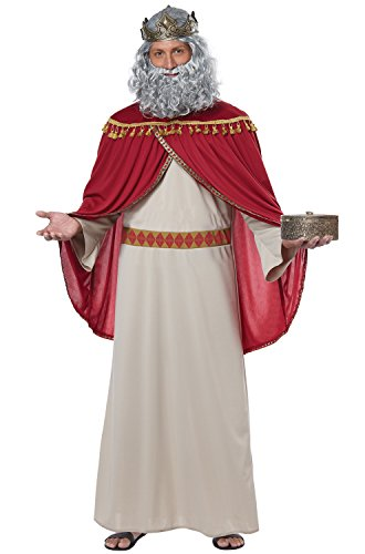California Costumes Melchior, Wise Man (Three Kings) Adult Costume-Large/X-Large - 3 Wise Man Costumes