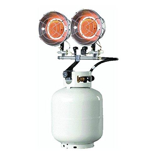WallEc(TM) Mr Heater F242650/650 Tank Top Propane Heater 2 Burner 10000-30000 BTU