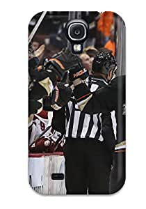 New Style 3179064K782979928 anaheim ducks (58) NHL Sports & Colleges fashionable Samsung Galaxy S4 cases