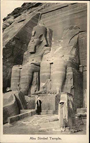 - Abu Simbel Temple Abu Simbel, Egypt Original Vintage Postcard