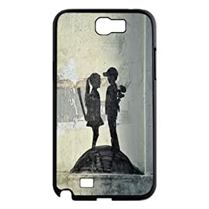 Street Graffiti Art Banksy Hard Plastic phone Case Cover For Samsung Galaxy Note 2 Case ZDI094918