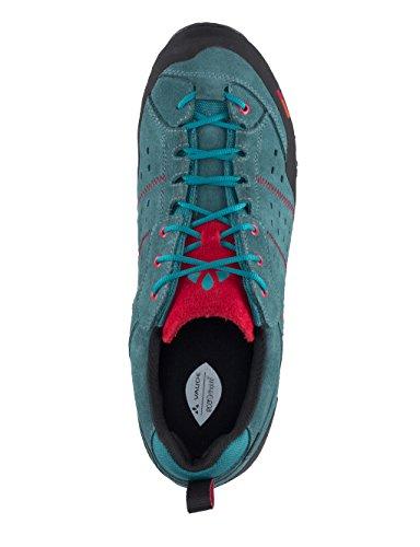 VAUDE Men's Dibona Advanced Stx, Zapatillas De Deporte Para Exterior Para Hombre Turquesa