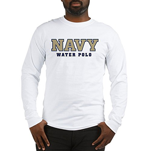 8704a184 CafePress US Naval Water Polo - Unisex Cotton Long Sleeve T-Shirt