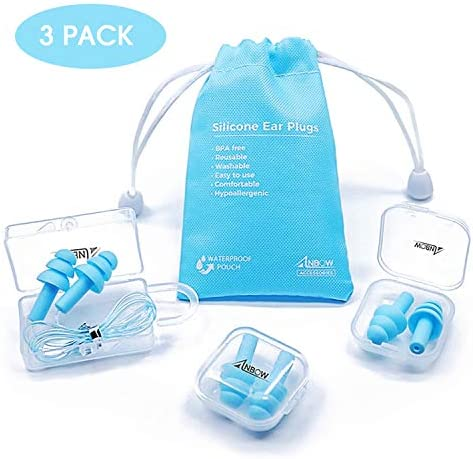 Reusable Silicone Ear Plugs Hypoallergenic product image