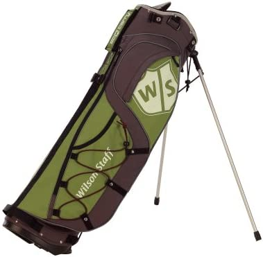 Amazon.com: Wilson Staff Eco llevar bolsa de golf (Verde ...