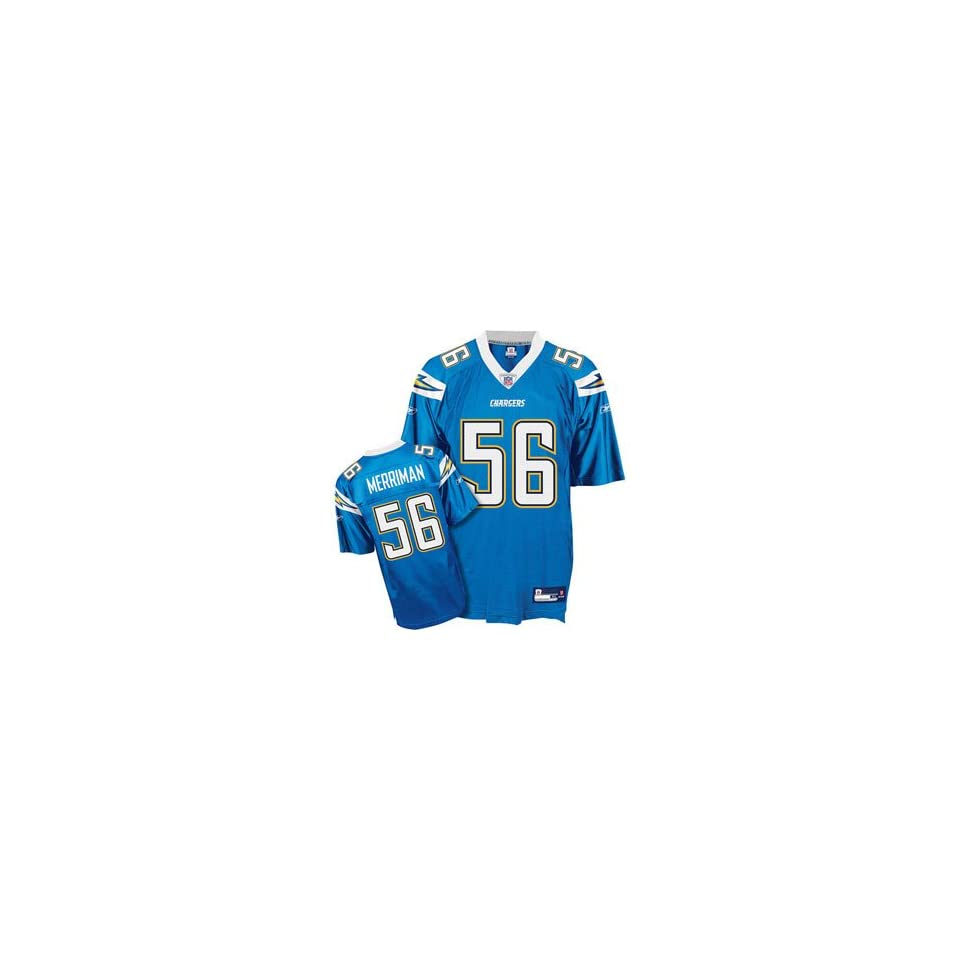 Shawne Merriman #56 San Diego Chargers NFL Replica Player Jersey By Reebok (Alternate Color)
