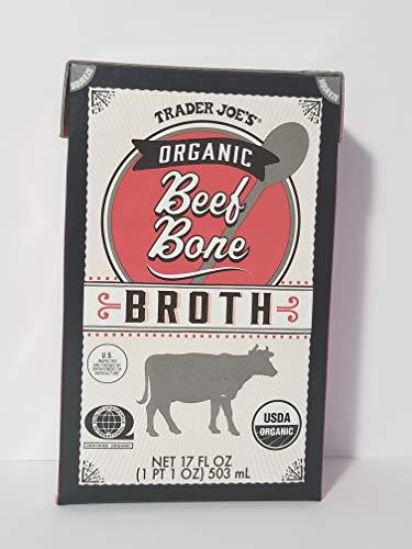 Trader Joe's - Organic Beef Bone Broth 17 Fl Oz (1 Pt 1 Oz) 503 mL