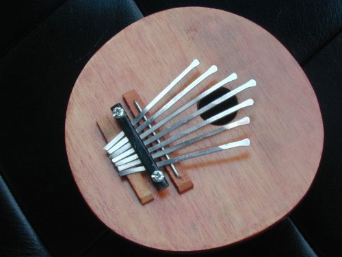 Coconut Gourd Kalimba Thumb Piano 7 Tuneable Note