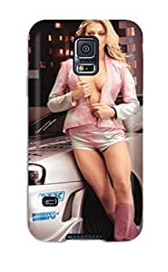 Durable Protector Case Cover With Cars And Girl Hot Design For Galaxy S5