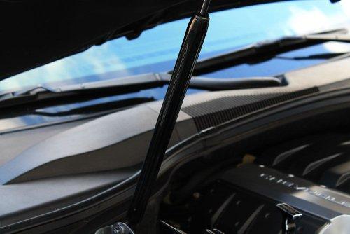 2010-2014 Camaro Billet Front Hood Strut Cover Black