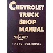 Amazon gm chevy chevrolet truck pickup books chevrolet truck shop manual 1948 1952 fandeluxe Images