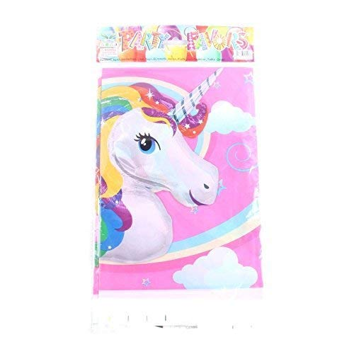 CharmTM Emoji Unicorn Set of 2 Party Tablecloths Plastic 71'' X 42.5'' Emoji Party Decorations